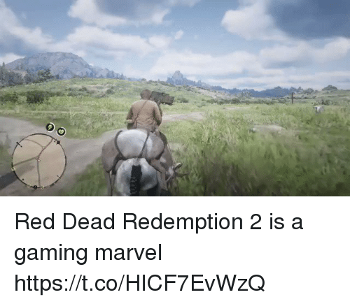 Marvel, Red Dead Redemption, and Gaming: Red Dead Redemption 2 is a gaming marvel https://t.co/HICF7EvWzQ