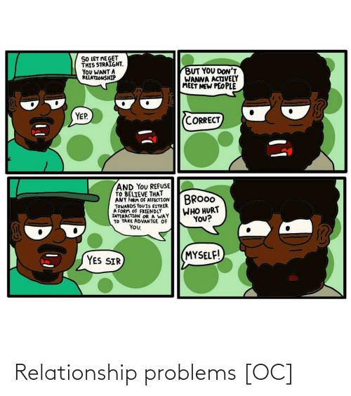 relationship: Relationship problems [OC]