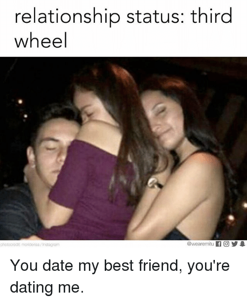 what to do when your best friends are dating