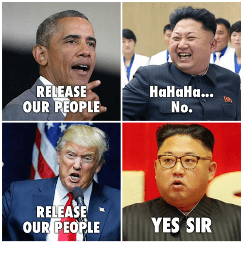 Conservative, Yes, and Sir: RELEASE  OUR REOPLE  HaHaHa...  No.  RELEASE  OUR PEOPLE YES SIR