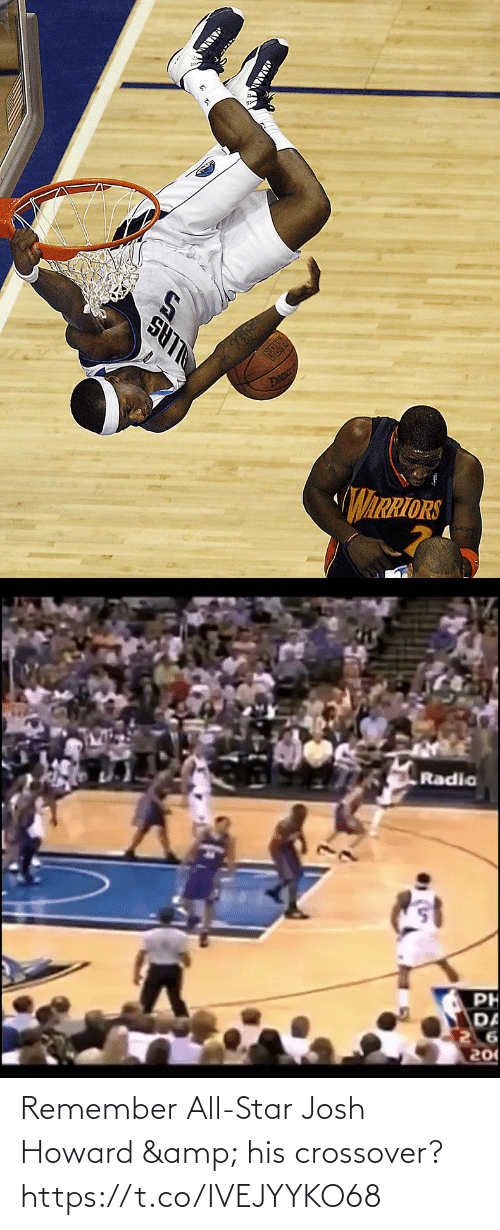 crossover: Remember All-Star Josh Howard & his crossover? https://t.co/IVEJYYKO68