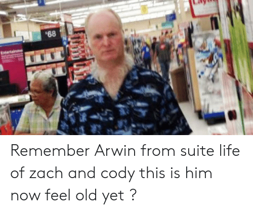 zach and cody: Remember Arwin from suite life of zach and cody this is him now feel old yet ?