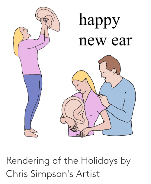 Chris Simpsons: Rendering of the Holidays by Chris Simpson's Artist