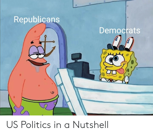 Politics, Republicans, and In a Nutshell: Republicans  Democrats US Politics in a Nutshell