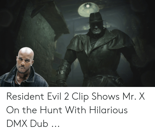 Resident Evil 2 Clip Shows Mr X On The Hunt With Hilarious Dmx Dub