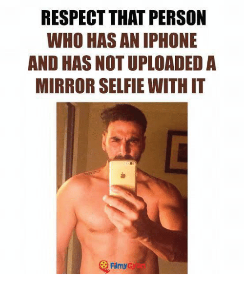 RESPECT THAT PERSON WHO HAS AN IPHONE AND HAS NOT UPLOADED a