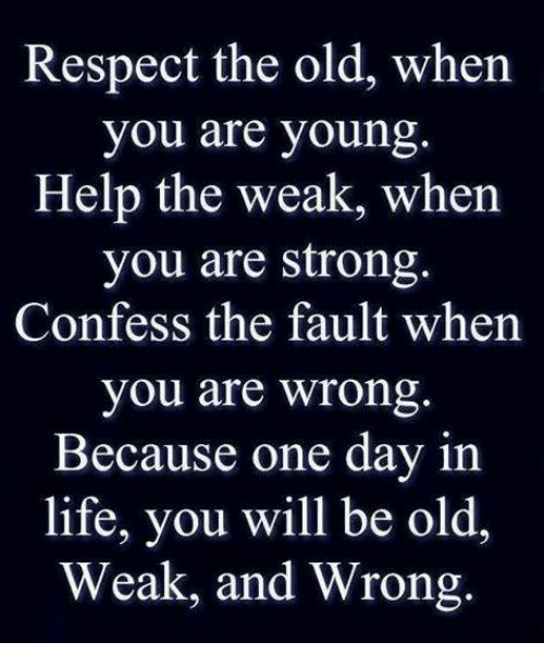 when you are weak i will be strong