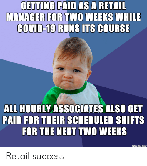 Success: Retail success
