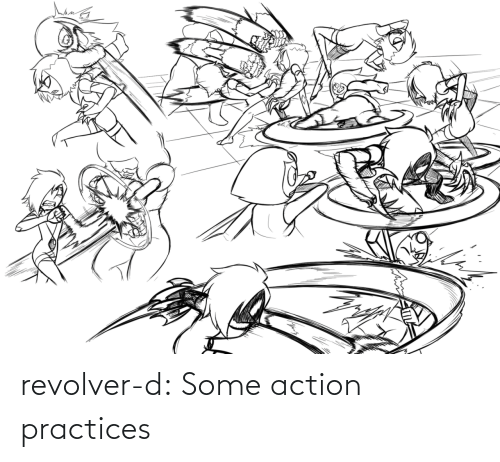 action: revolver-d:  Some action practices