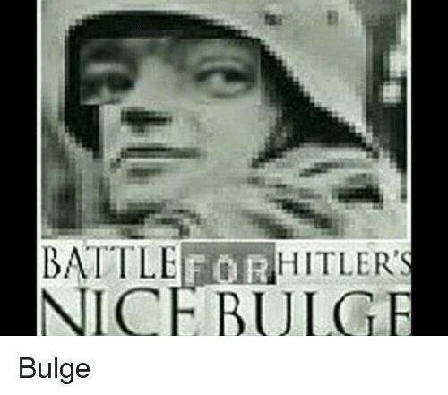 Nice, Battle, and Bulge: RHITLER  BATTLE  NICE BULGE Bulge