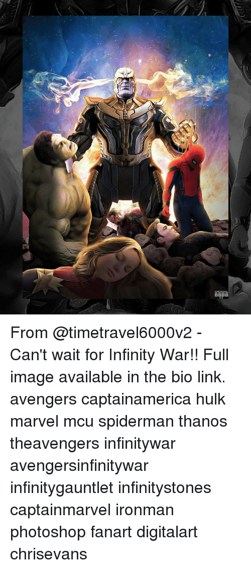 imags: RiaN From @timetravel6000v2 - Can't wait for Infinity War!! Full image available in the bio link. avengers captainamerica hulk marvel mcu spiderman thanos theavengers infinitywar avengersinfinitywar infinitygauntlet infinitystones captainmarvel ironman photoshop fanart digitalart chrisevans