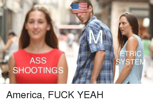 America, Ass, and Yeah: RIC  ASS  SHOOTING  SYSTE America, FUCK YEAH