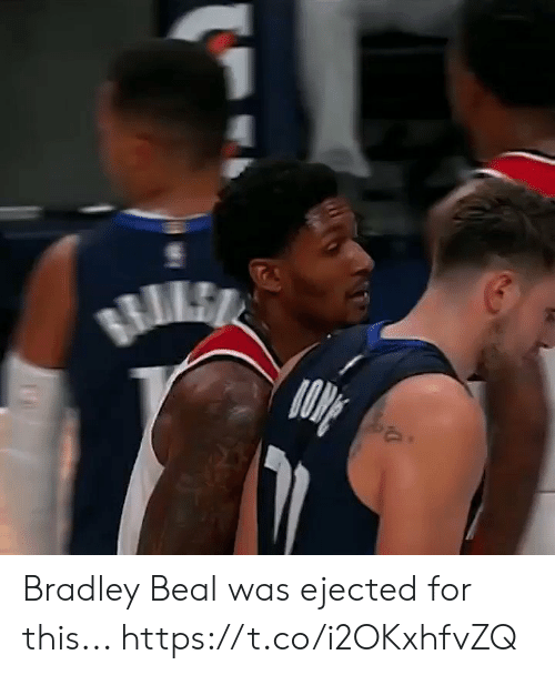 Memes, Bradley Beal, and 🤖: RILE Bradley Beal was ejected for this... https://t.co/i2OKxhfvZQ