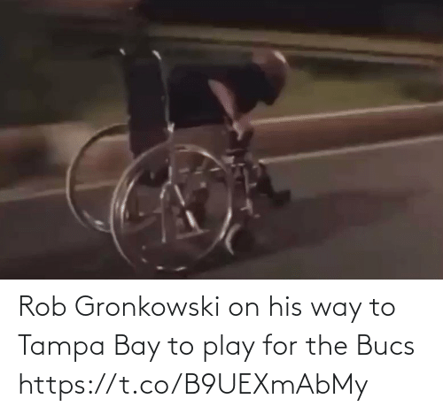 play: Rob Gronkowski on his way to Tampa Bay to play for the Bucs https://t.co/B9UEXmAbMy