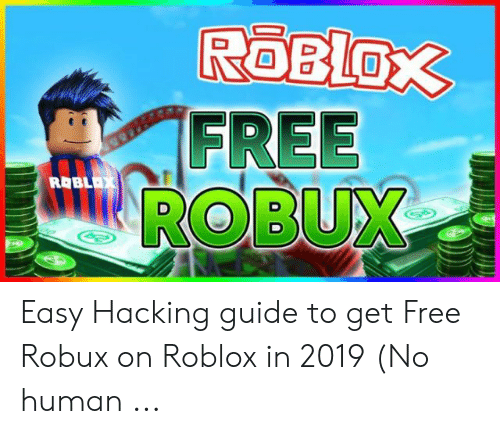 ROBLOX FREE ROBUX ROBLAX Easy Hacking Guide to Get Free