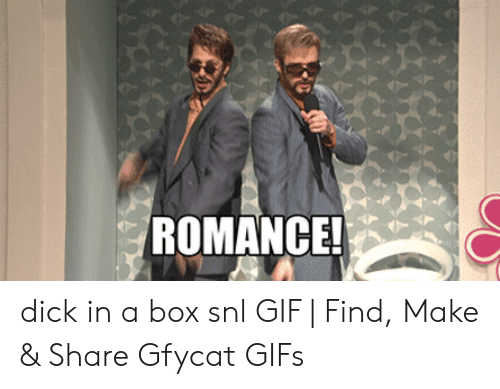 ROMANCE! Dick in a Box Snl GIF | Find Make & Share Gfycat