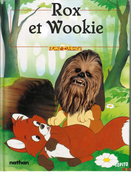 Wooki: Rox  et Wookie  nathan  PITO