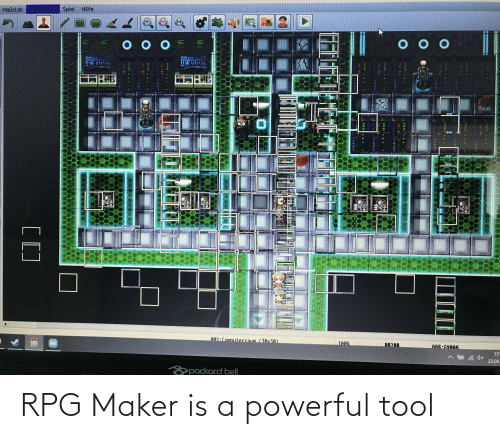 maker: RPG Maker is a powerful tool