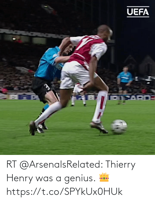 henry: RT @ArsenalsRelated: Thierry Henry was a genius. 👑    https://t.co/SPYkUx0HUk