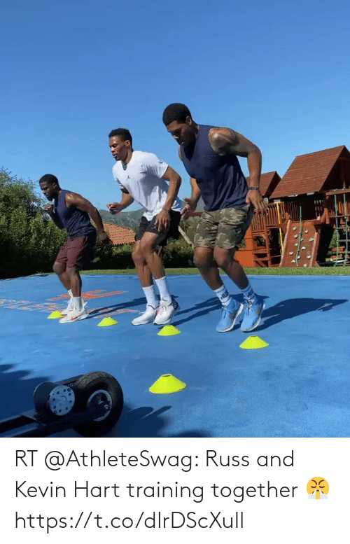 kevin: RT @AthleteSwag: Russ and Kevin Hart training together 😤 https://t.co/dIrDScXull