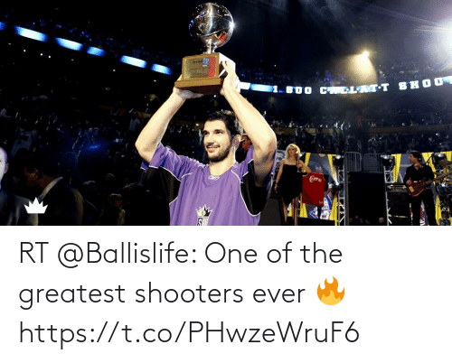 greatest: RT @Ballislife: One of the greatest shooters ever 🔥 https://t.co/PHwzeWruF6