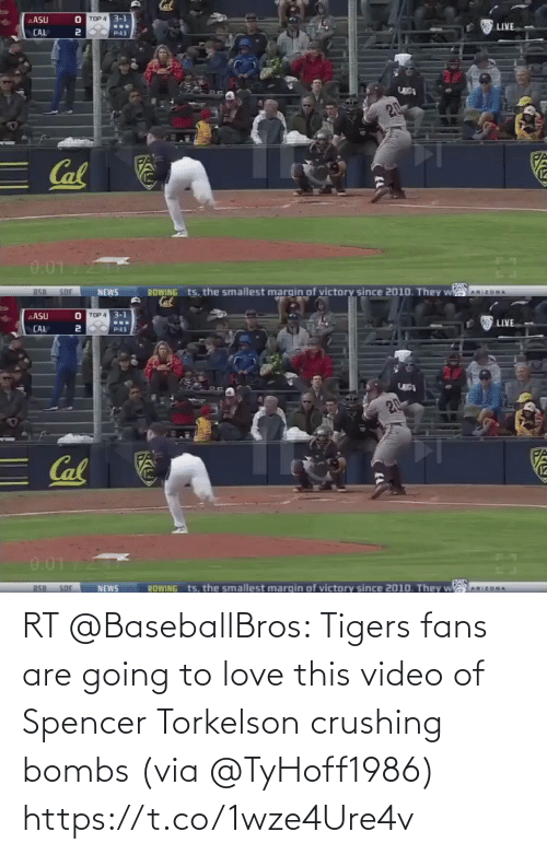 Going To: RT @BaseballBros: Tigers fans are going to love this video of Spencer Torkelson crushing bombs (via @TyHoff1986) https://t.co/1wze4Ure4v
