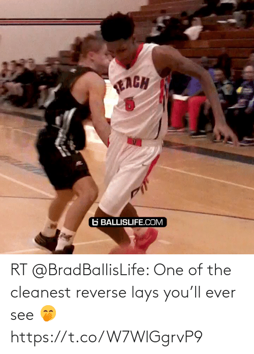 Lay's: RT @BradBallisLife: One of the cleanest reverse lays you'll ever see 🤭  https://t.co/W7WlGgrvP9