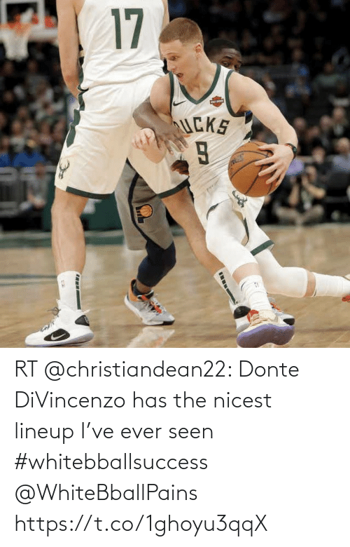 Divincenzo: RT @christiandean22: Donte DiVincenzo has the nicest lineup I've ever seen #whitebballsuccess @WhiteBballPains https://t.co/1ghoyu3qqX