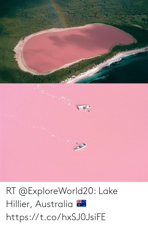 Australia: RT @ExploreWorld20: Lake Hillier, Australia 🇦🇺 https://t.co/hxSJ0JsiFE