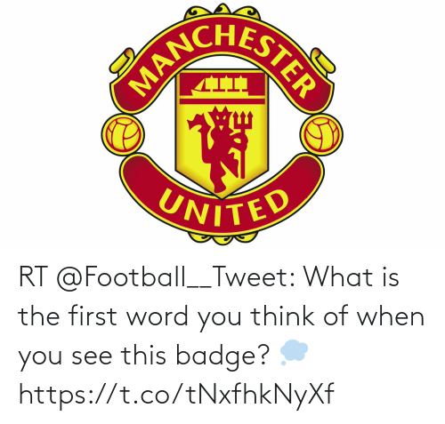 soccer: RT @Football__Tweet: What is the first word you think of when you see this badge? 💭 https://t.co/tNxfhkNyXf