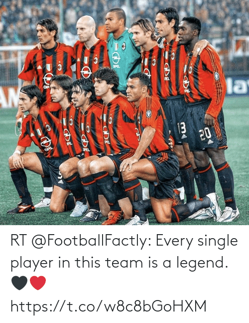 team: RT @FootballFactly: Every single player in this team is a legend. 🖤❤️ https://t.co/w8c8bGoHXM