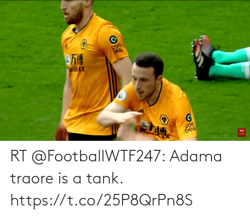 tank: RT @FootballWTF247: Adama traore is a tank. https://t.co/25P8QrPn8S