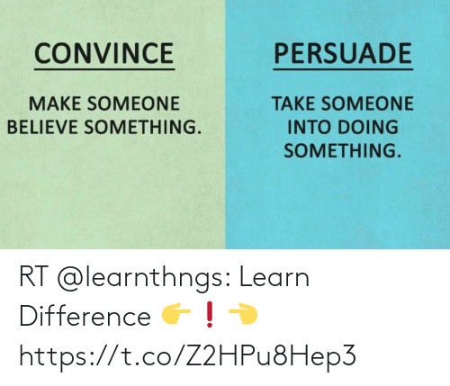 Learn: RT @learnthngs: Learn Difference 👉❗👈 https://t.co/Z2HPu8Hep3
