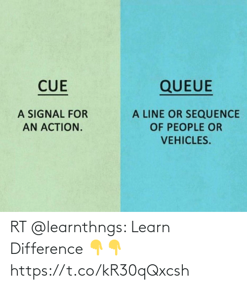 Learn: RT @learnthngs: Learn Difference 👇👇 https://t.co/kR30qQxcsh