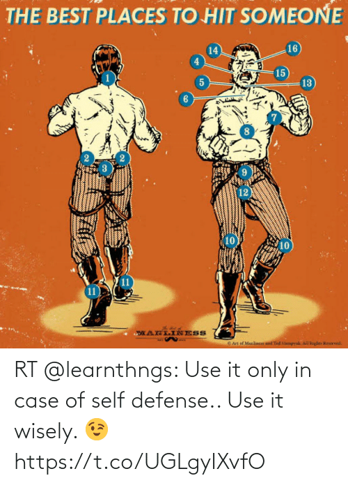 In Case: RT @learnthngs: Use it only in case of self defense.. Use it wisely. 😉 https://t.co/UGLgyIXvfO
