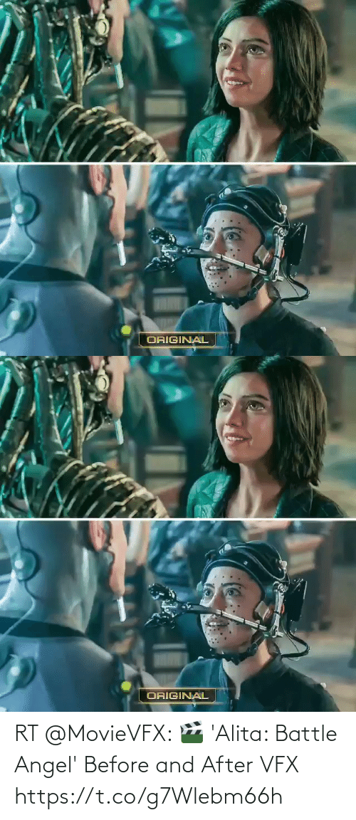 battle: RT @MovieVFX: 🎬 'Alita: Battle Angel' Before and After VFX https://t.co/g7Wlebm66h