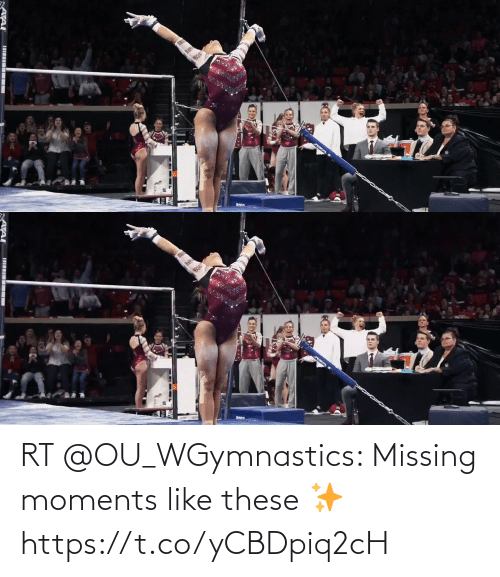 missing: RT @OU_WGymnastics: Missing moments like these ✨ https://t.co/yCBDpiq2cH