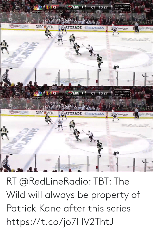 kane: RT @RedLineRadio: TBT: The Wild will always be property of Patrick Kane after this series https://t.co/jo7HV2ThtJ