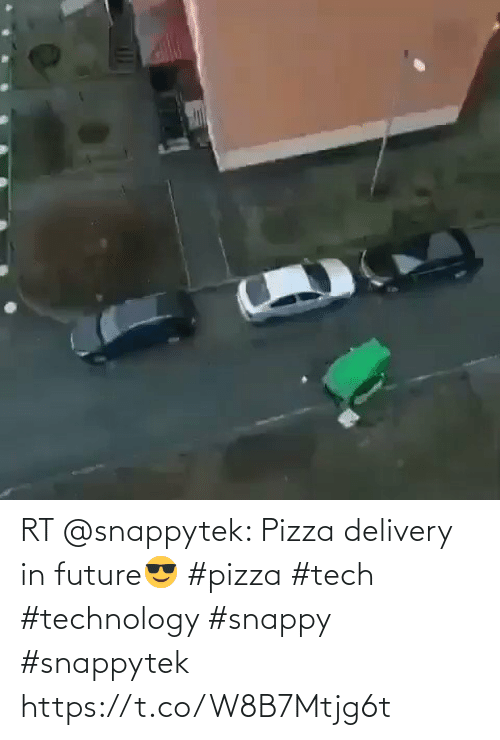 Tech: RT @snappytek: Pizza delivery in future😎 #pizza #tech #technology #snappy #snappytek https://t.co/W8B7Mtjg6t