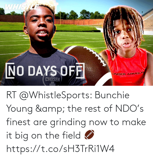Young: RT @WhistleSports: Bunchie Young & the rest of NDO's finest are grinding now to make it big on the field 🏈 https://t.co/sH3TrRi1W4