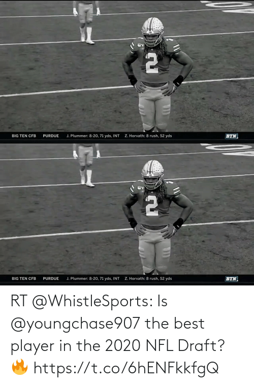 NFL draft: RT @WhistleSports: Is @youngchase907 the best player in the 2020 NFL Draft? 🔥 https://t.co/6hENFkkfgQ