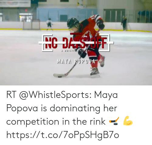 Rink: RT @WhistleSports: Maya Popova is dominating her competition in the rink 🏒 💪https://t.co/7oPpSHgB7o