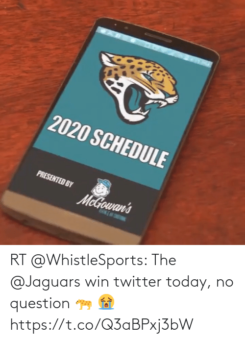 jaguars: RT @WhistleSports: The @Jaguars win twitter today, no question 🐆 😭 https://t.co/Q3aBPxj3bW