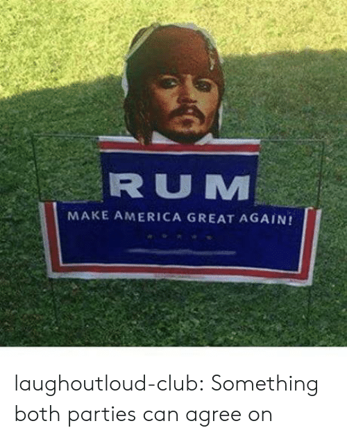 America Great Again: RUM  MAKE AMERICA GREAT AGAIN! laughoutloud-club:  Something both parties can agree on