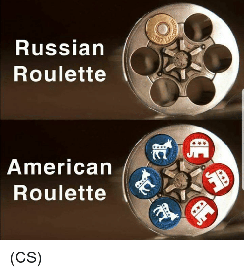 Memes, American, and Russian: Russian  Roulette  American  Roulette (CS)