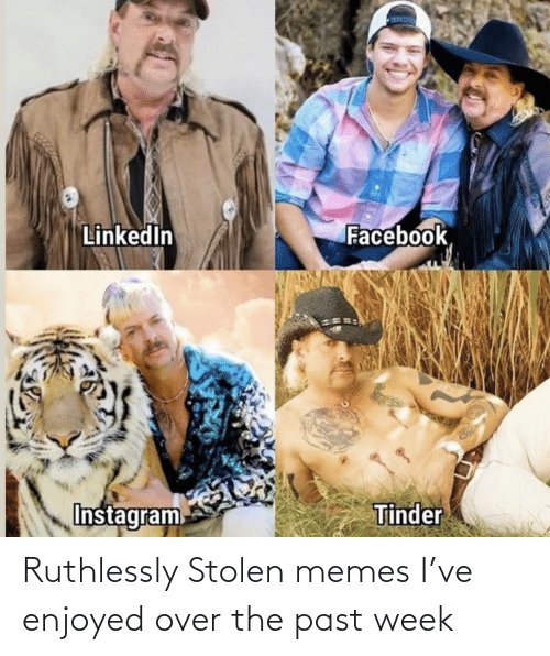Past: Ruthlessly Stolen memes I've enjoyed over the past week