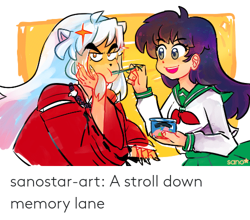 Art Tumblr: sanostar-art:  A stroll down memory lane
