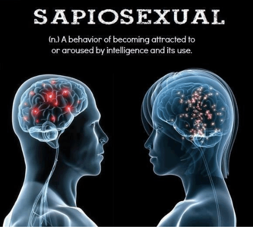 Memes, 🤖, and Sapiosexual: SAPIOSEXUAL  (n.) A behavior of becoming attracted to  or aroused by intelligence and it