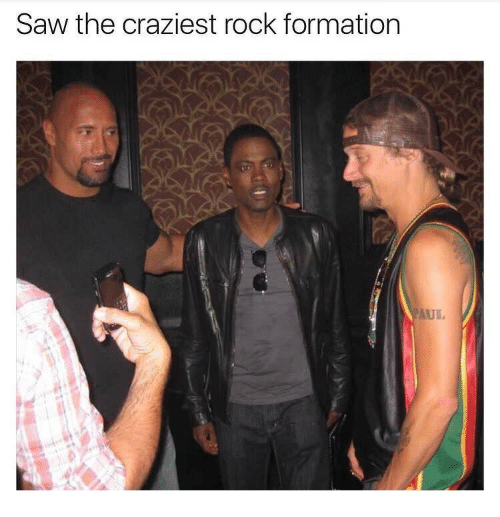 Formation: Saw the craziest rock formation  AUL