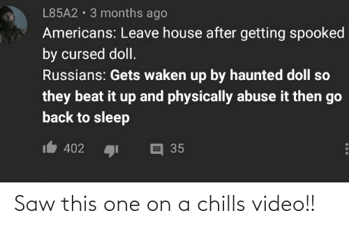 chills: Saw this one on a chills video!!